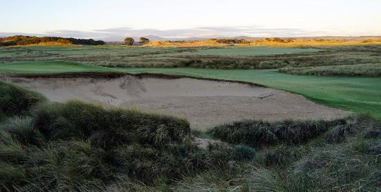 Bridport, Australia: View over the golf course.