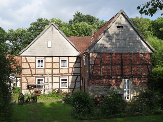 Lugde, Alemania: Paradiesmuhle Rischenau Building