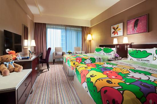 Park Hotel Hong Kong : Deluxe Plus Family Room with special set up