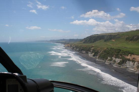 New Plymouth, New Zealand: North Taranaki coastline