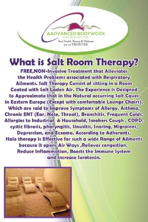 Aadvanced Bodyworx: Salt Room