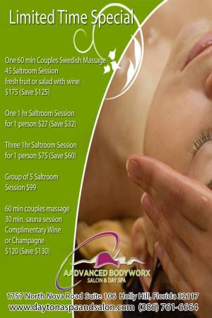 Aadvanced Bodyworx: Spa Packages