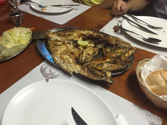 La Vigia: Our (shared) grilled fish