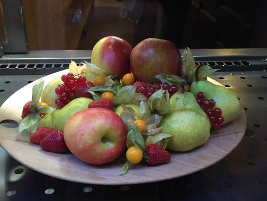 Traumhaftes Ambiente Speisen super schön arrangiert