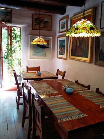 La Dona Luz Inn, An Historic Bed & Breakfast: Dining room