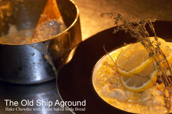 Old Ship Aground: love to cook