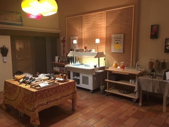Hotel Les Ambres : Le petit déjeuner