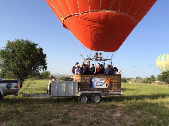 sultan adventure balloon flight picture of sultan balloons