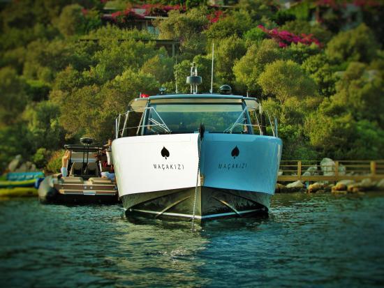 Macakizi Hotel Bodrum: Boat Impressions
