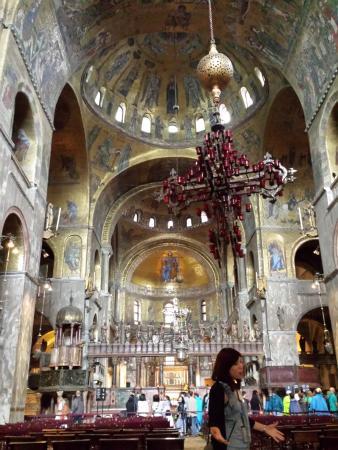 Interno Basilica Di San Marco Picture Of Basilica Di San