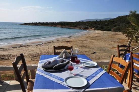 Photo of Greek Restaurant Lepitsa Restaurant at Παραλία Λεπίτσας, Kilada 21300, Greece