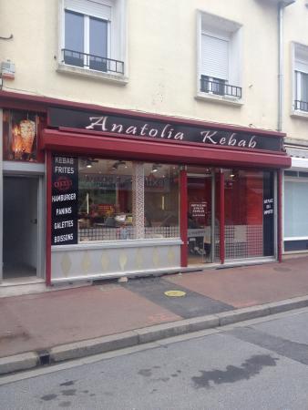 Torigni-sur-Vire, Francia: Anatolia Kebab