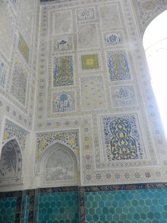 Шахрисабз, Узбекистан: Particolare del decoro
