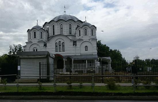 Nekrasovka, Russia: Храм блаженной Ксении Петербургской