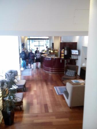 Savoy Hotel: Visuale della reception