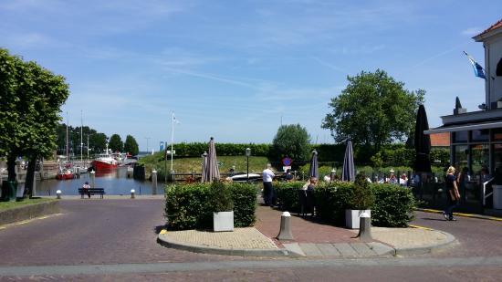 North Brabant Province, Paesi Bassi: Het open terras van Bellevue.