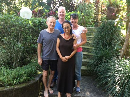 Villa Orchid Bali: Our hosts Gerhard and Yuni