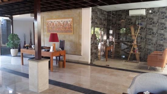 Bali Nyuh Gading Villa: Reception