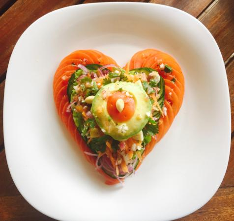 """Food that says, """"I love you."""""""