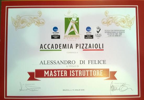 Ristorante Pizzeria Piassalber : Accademia Pizzaioli.