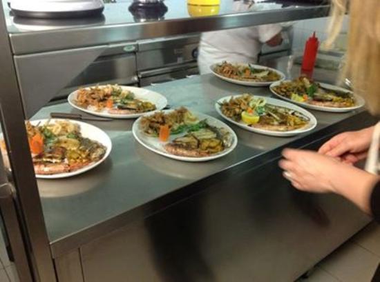 Ristorante Pizzeria Piassalber : La Cucina del pesce