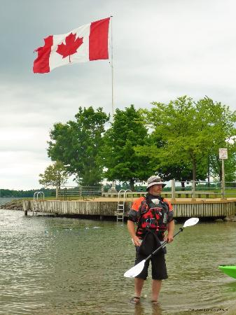Gananoque, Canada: Our mighty and brave and very talented guide - TODD