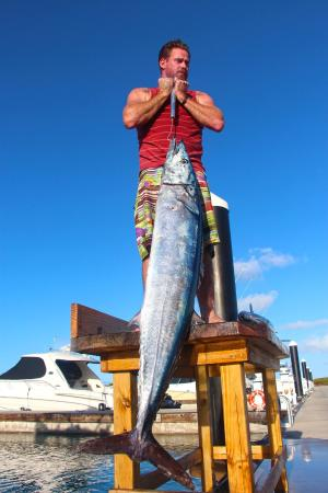 Panoply Sport Fishing & Luxury Charters : my second wahoo ever