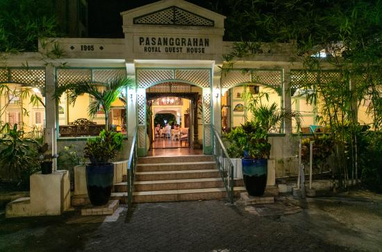 Pasanggrahan Royal Guesthouse: entranceway