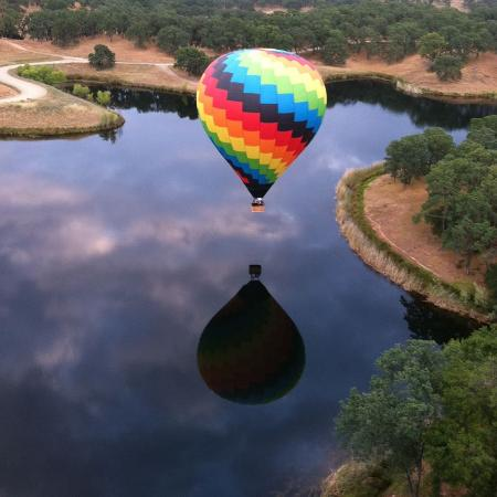 Rancho Murieta, Kalifornie: Flying the back lakes