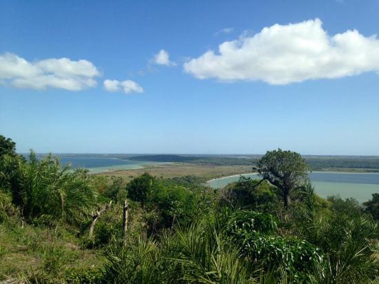 Amangwane - Kosi Bay : Uitzicht tijdens 'fish trap' tour