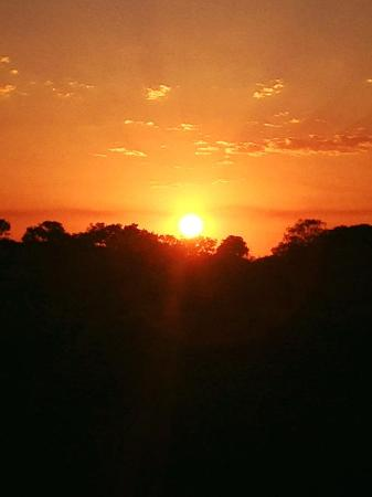 Amangwane - Kosi Bay : Zonsondergang vanaf Amangwane