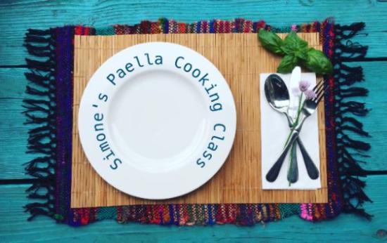 Simone's Paella Cooking Class