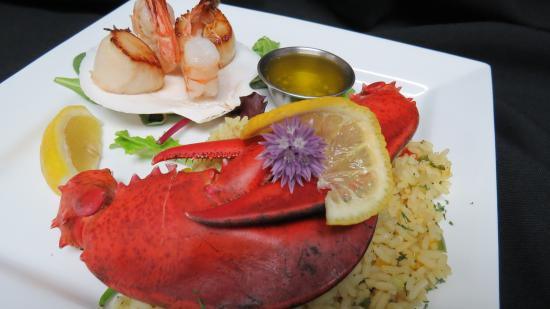 Fundy Restaurant: Daily Chef's creations