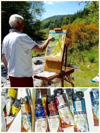 Art at Pengwernydd with Anita Woods