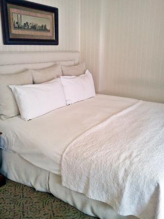 The Benjamin: Big, beautiful, comfy bed!