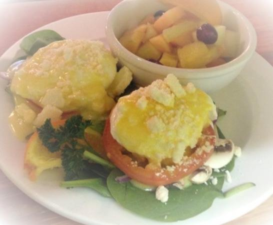 In the Beantime Cafe: Egg Benny Florentine