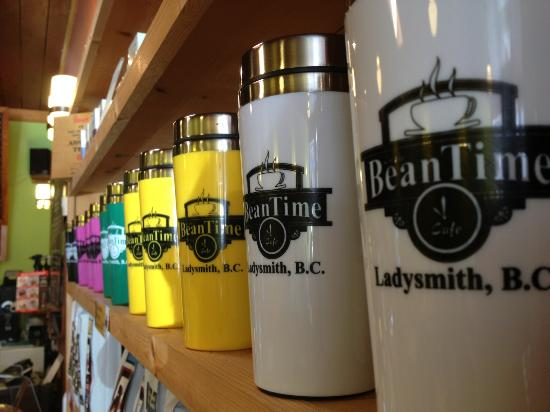 In the Beantime Cafe: Travel Mugs