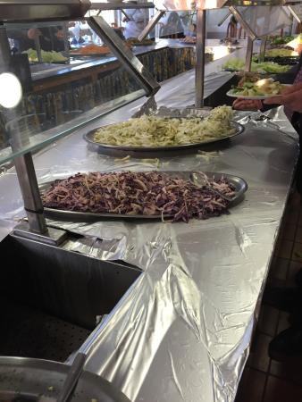 Daurada Park: buffet assiete nofyam voyage