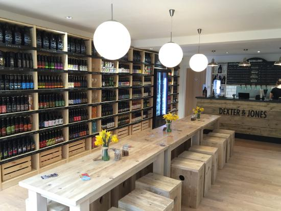 Dexter & Jones Craft Beer & Artisan Gin Bottle Shop & Bar, Knutsford.