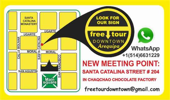map free tour - Picture of Free Tour Downtown Arequipa ... Map Of Downtown Catalina on map of baghdad, map of scottsdale, map of avalon, map of capri, map of coronado, map of ventura, map of devon, map of victoria, map of florence, map of tonto natural bridge, map of old tucson studios, map of payson, map of northeast tucson, map of grand canyon village, map of east long beach, map of south bay area, map of avondale, map of fogo, map of chandler heights, map of rio rico,