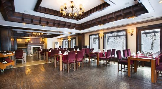 Dedeman Paladoken Ski Lodge: Şömine Restoran