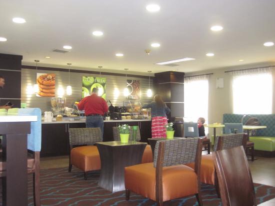 Irving, TX: salle du petit déjeuner