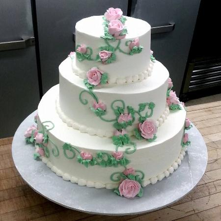 Sample wedding Cake   Picture of Pastry Corner, Mount Kisco