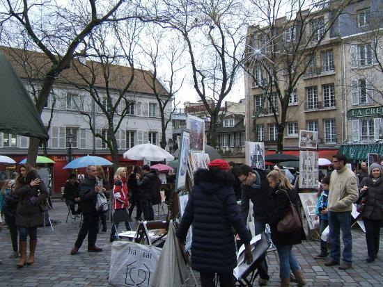 Paris, Fransa: Place du Tertre