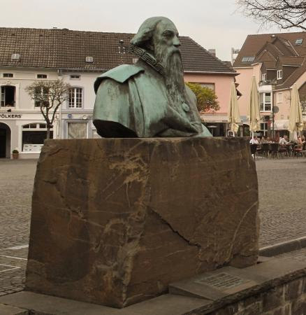 Bust of Wilhelm Fabry