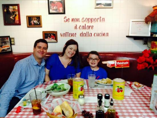 Our view from the kitchen table picture of buca di beppo buca di beppo wonderful time with my family workwithnaturefo