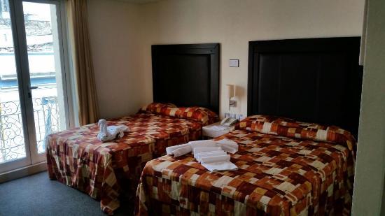 Posada Guadalupe Hotel: Habitación doble cama  hasta para 4 personas