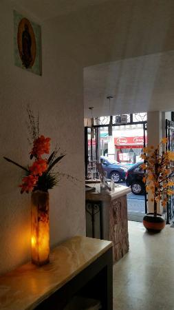 Posada Guadalupe Hotel: Nuestra recepción