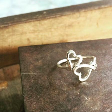 f4fdd3fd2 Chez Monique Silver Smith Class: A ring created during the silver-making  class.