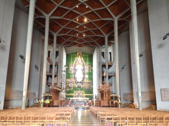 Coventry, UK: New cathedral! A great legacy and a excellent memorial of that which was lost.